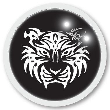 129 Tiger sticker (klistermärke till Freestyle Libre sensor)