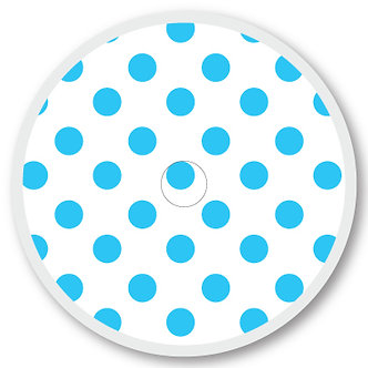 119 White and blue dots