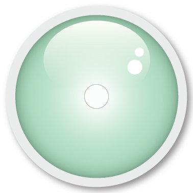 141 Mint Green sticker (klistermärke till Freestyle Libre sensor)