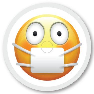331 Munskydds emoji
