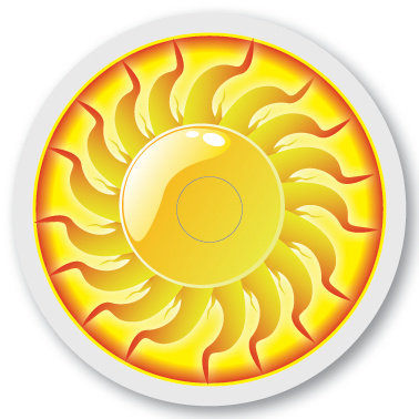 145 Xtreme sun sticker (klistermärke till Freestyle Libre sensor)