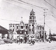 戦災直後の高知教会