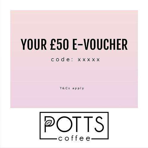 £50 E-Voucher