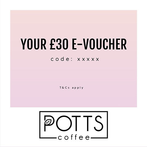 £30 E-Voucher