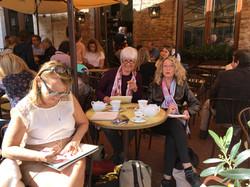 Café à San Giminiano