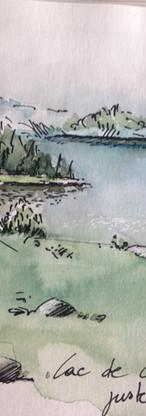 Lac de Camporelles . Pyrénèes