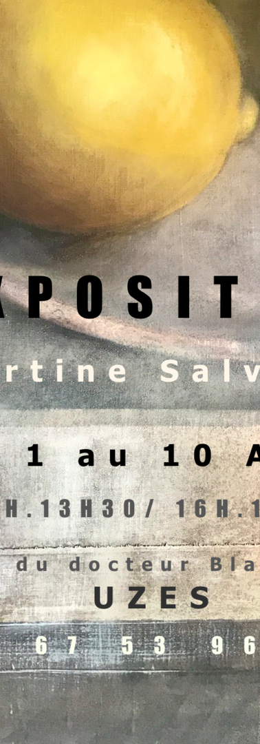 Affiche expo Aout 2020