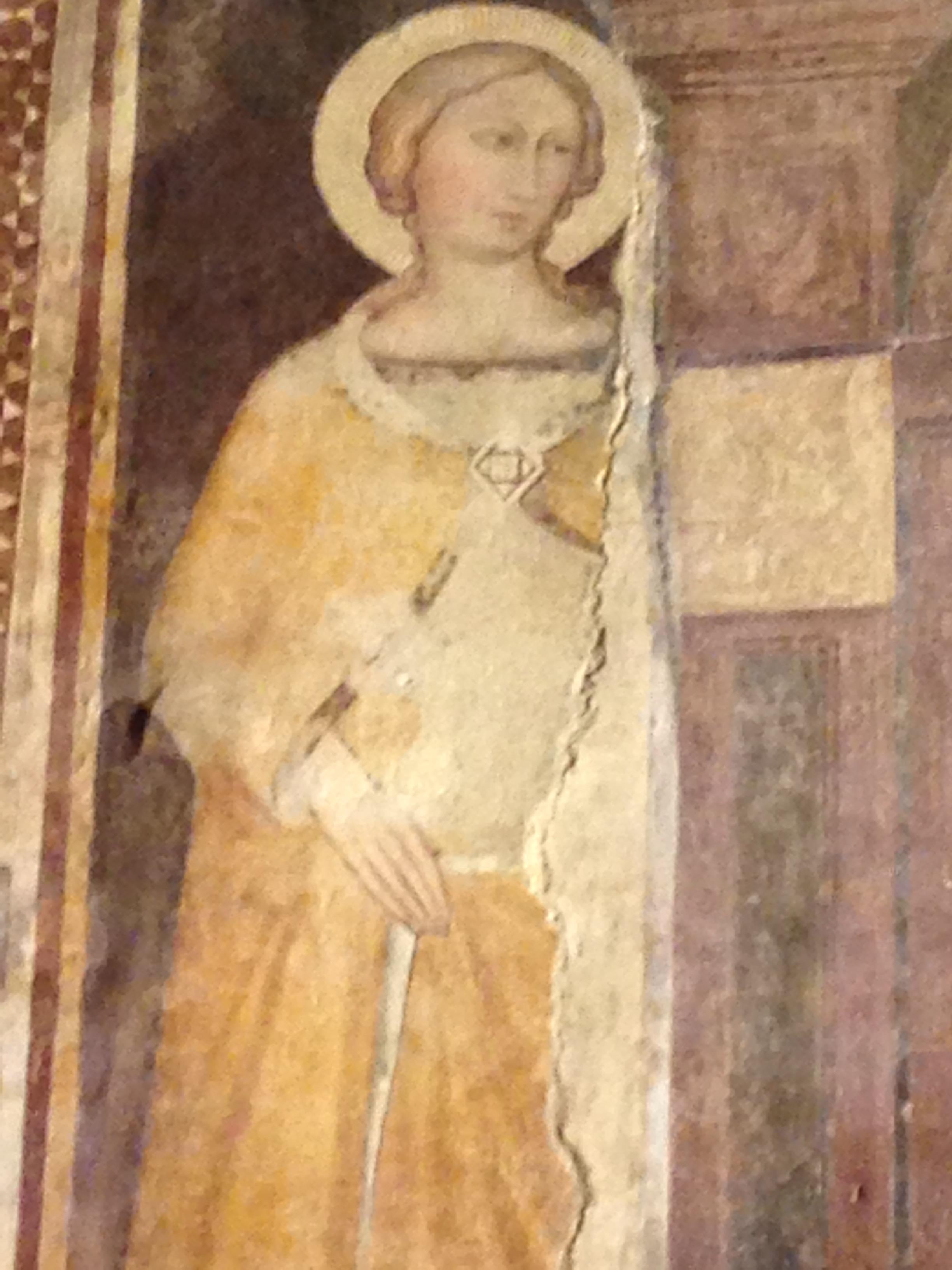 Fresque à Sienne