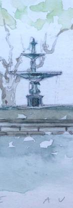 La fontaine d'Uzés