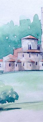 Sant'Antimo . Toscane