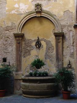 Fontaine à Sienne