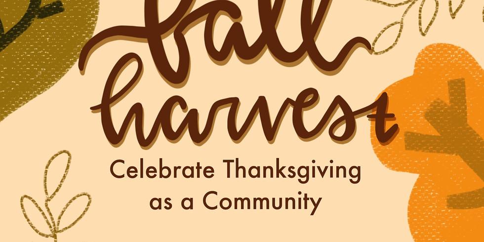 Church Fall Harvest & Thanksgiving Lunch