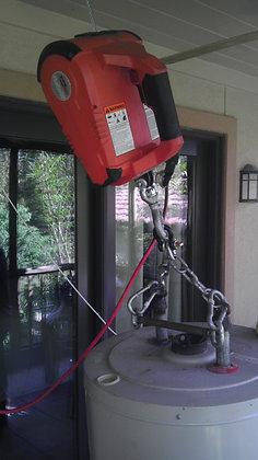 Water Heater Winch