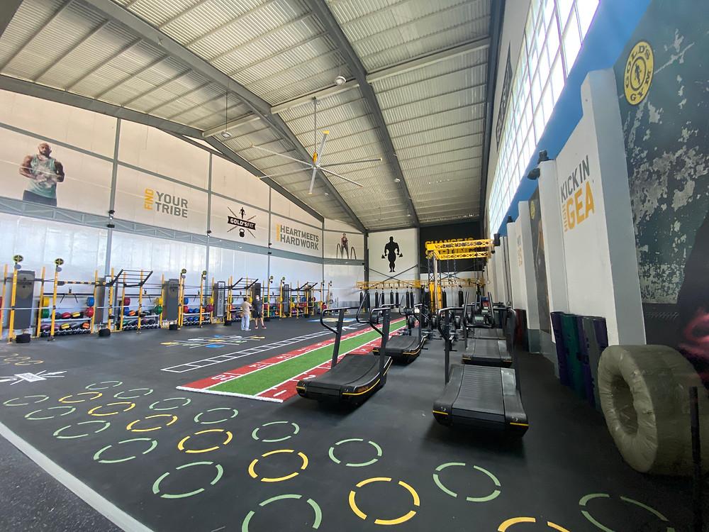 Nueva Sala de entrenamiento funcional con lo mejor en los últimos equipos