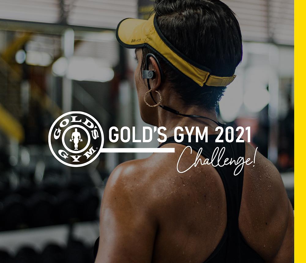 El nuevo y mejorado Golds Gym Challenge 2021