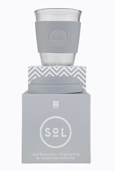 Sol Glass Coffee Cups - 12oz