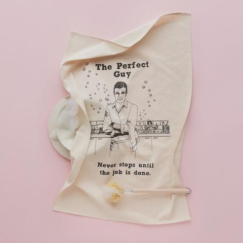Natty Perfect guy tea Towel