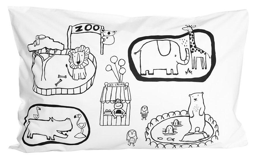 Henry & Co Zoo World Pillowcase