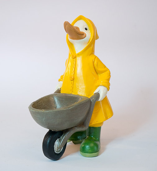 Raincoat Duck Decor