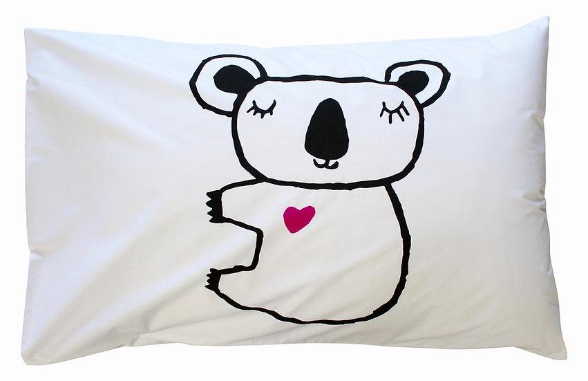 Henry & Co Koala Pillowcase