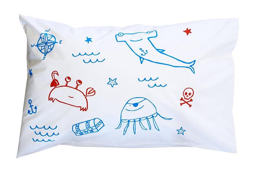 Henry & Co Pirate Gang Pillowcase