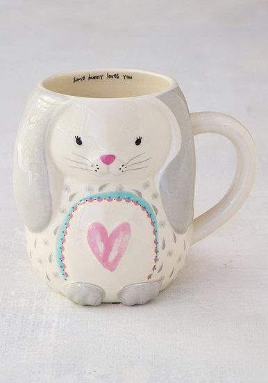 Natural Life Folk Mug - Bunny