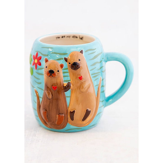 Natural Life Folk Mug -Otter
