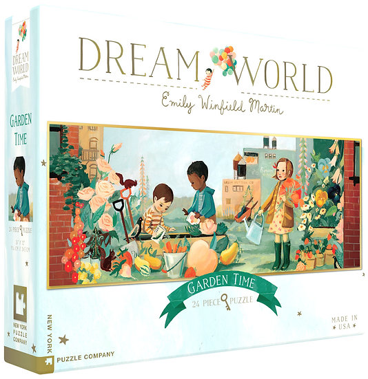 New York Puzzle Company Jigsaw Puzzle - DreamWorld -24pc ( Large )