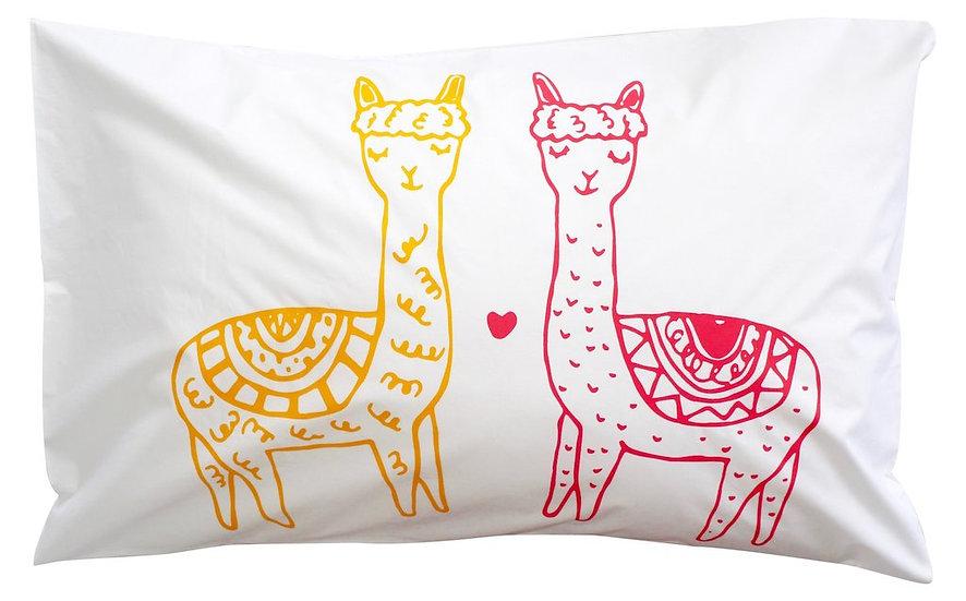 Henry & Co Llama Llama Pillowcase