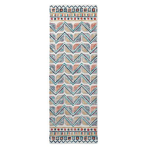 Priti Ivory-Multi Justina Blakeney × Loloi (77x229)