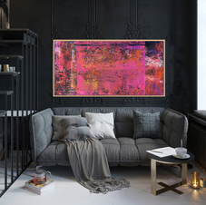 Pink Paradise 24x48 in