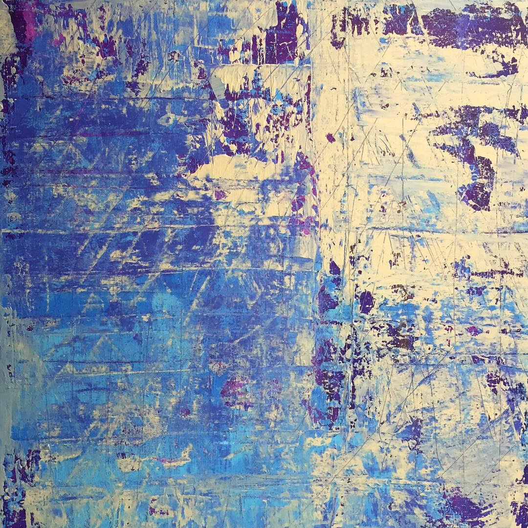 Weathered Collection.Bluebonnet
