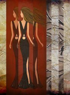 Liquid Lady No.1 Collage