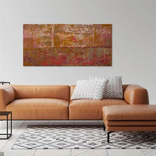 Gilded Collection #9 24x48 in