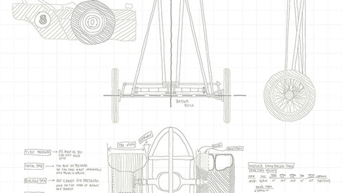FED Dragster detail