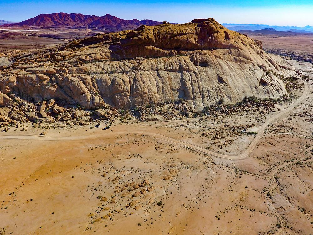 Namibia Desert Drone Aerial