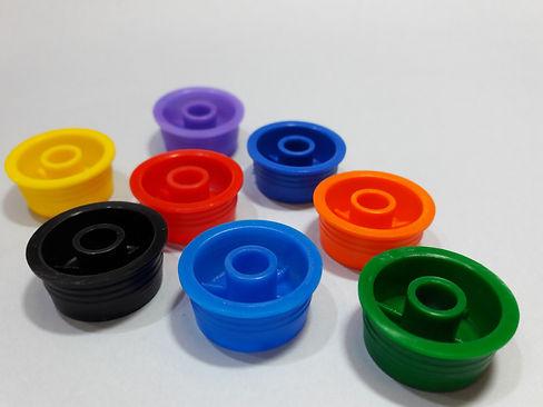 Insertos vertedores en diversos colores