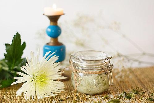 Organic Dead Sea Salt Body Exfoliating Scrub