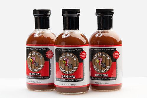3 Pack - BBQ Sauce (Original)