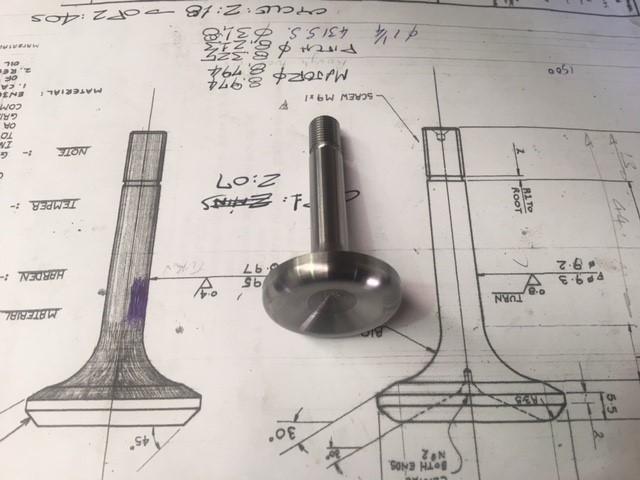 Poppet valves from 431 steel 2