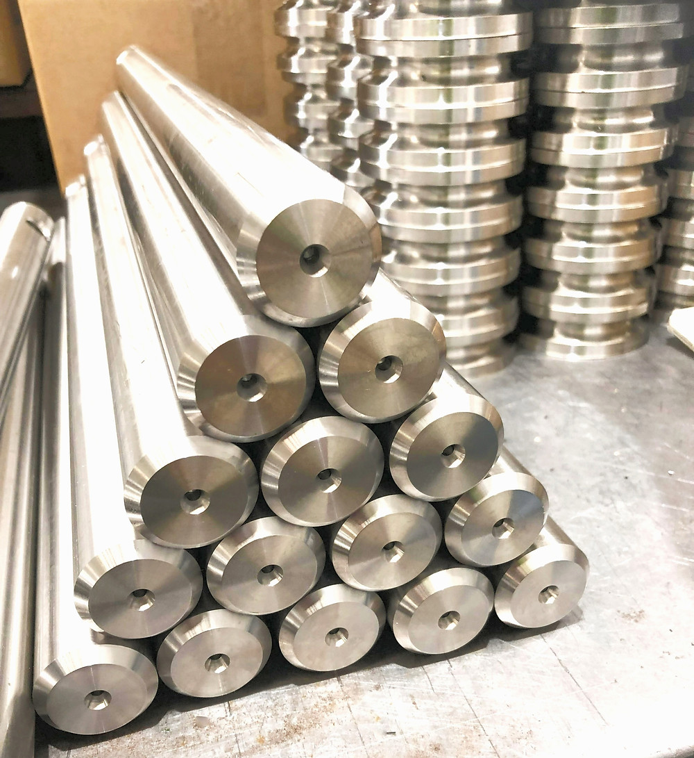 CNC Machining Sydney - Stainless steel parts manufactured by Challenge Engineering