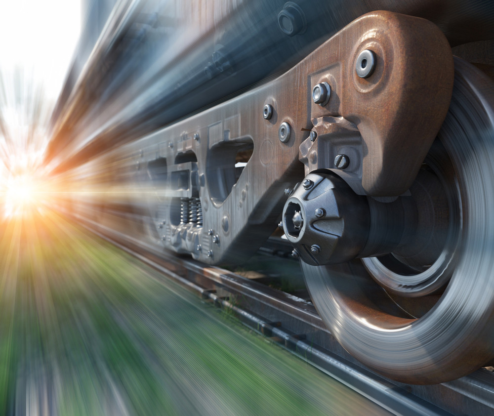 Industrial Rail Train Wheels - see Challenge Engineering