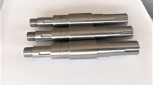 CNC Machined Shafts with Keyways