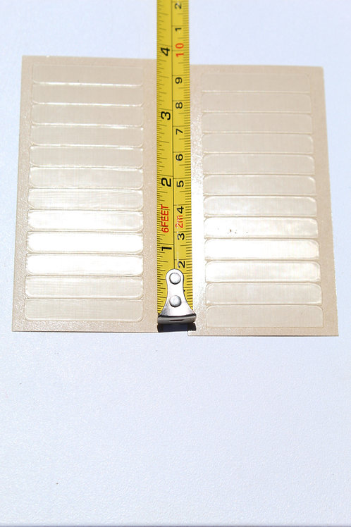 ONE sided hair tape strips - 5 sheets - 60 total strips