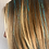 Thumbnail: Aqua HoloSparkle  - Tape-in Tinsel Extensions
