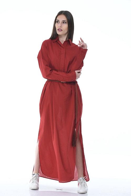 Skin shirt dress
