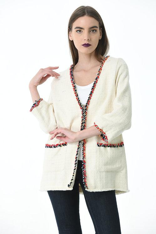 Fancy Off-White Blazer