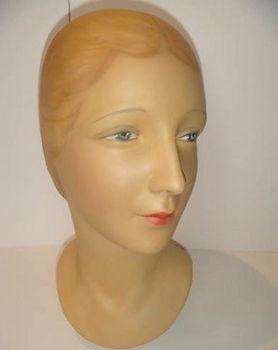 Mannequin Head   Jeff Meyer Art   Plaster Restoration