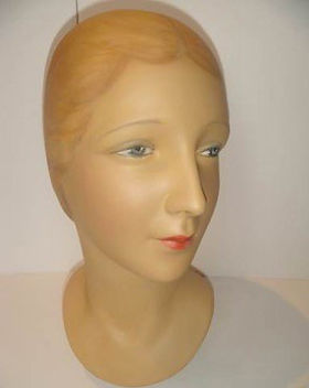 Mannequin Head | Jeff Meyer Art | Plaster Restoration