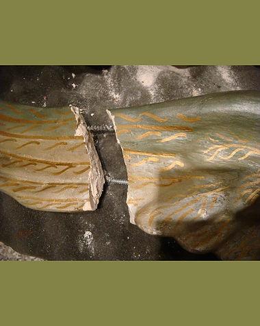 Antique Angel | Jeff Meyer Art | Plaster Restoration